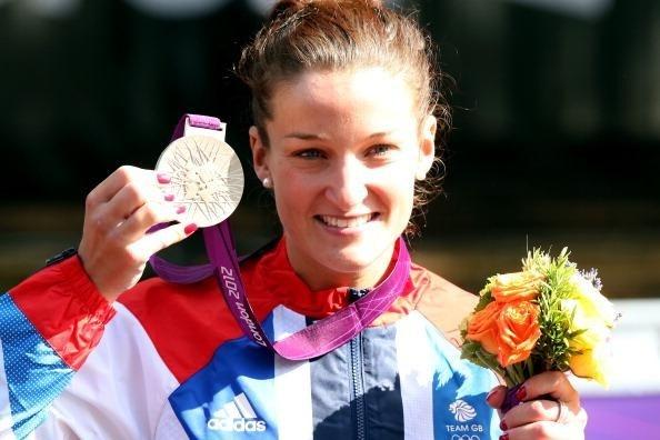 Lizzie Armitstead, silver medalist