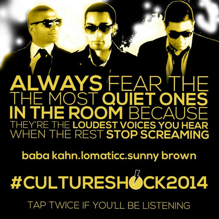 Are you ready for #cultureshock2014?