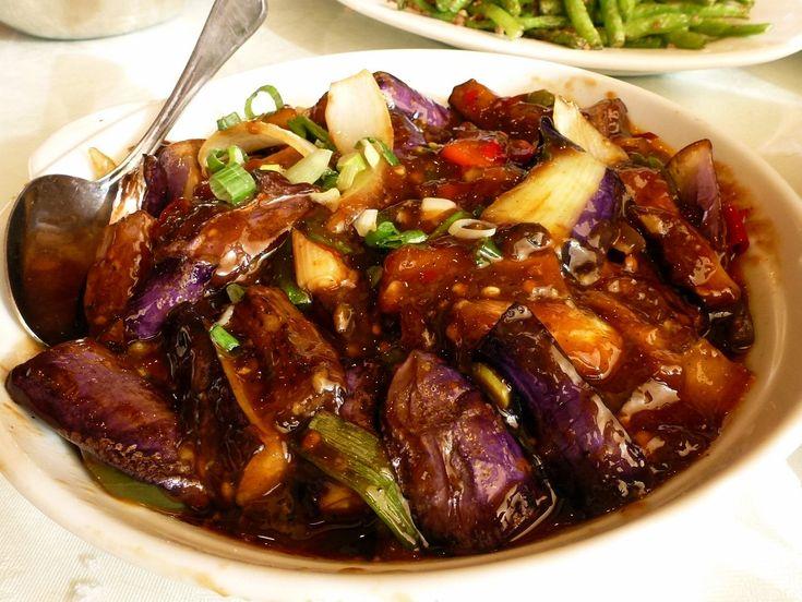 Eggplant in Garlic Sauce w/ Ground Pork