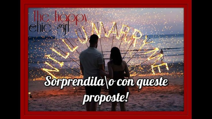 Tips on how to make a wedding proposal | Concepts and tips- Come fare una proposta di matr…