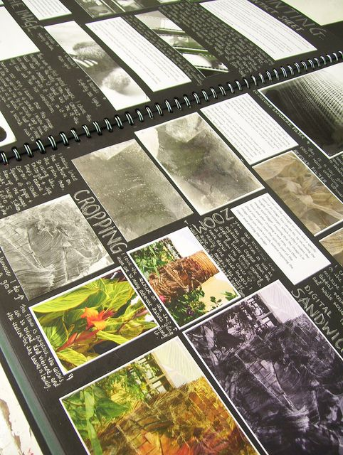 AS Level Photography Example Sketchbook