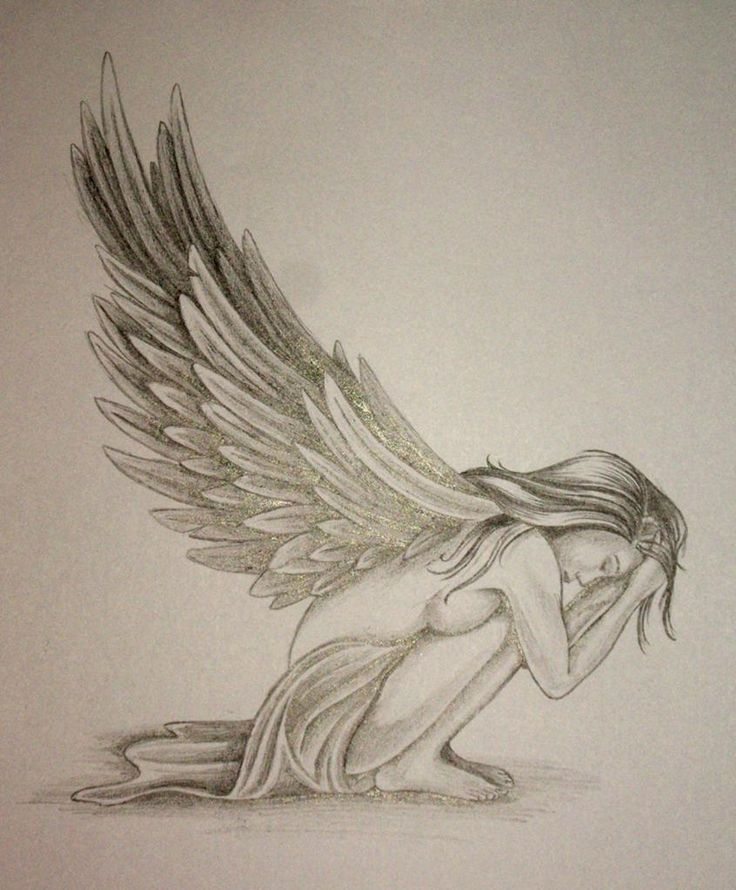 Angel Tattoos | Pin Image Angel Tattoo Design By Daniellehopejpg Tattoos Wiki picture ... Like this but more fairie-ish