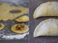 Jamaican veggie patties recipe from Bryant Terry's Vegan Soul Kitchen posted over at 101 Cookbooks.