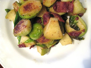 Brussels Sprouts with Apple and Bacon | Eats | Pinterest