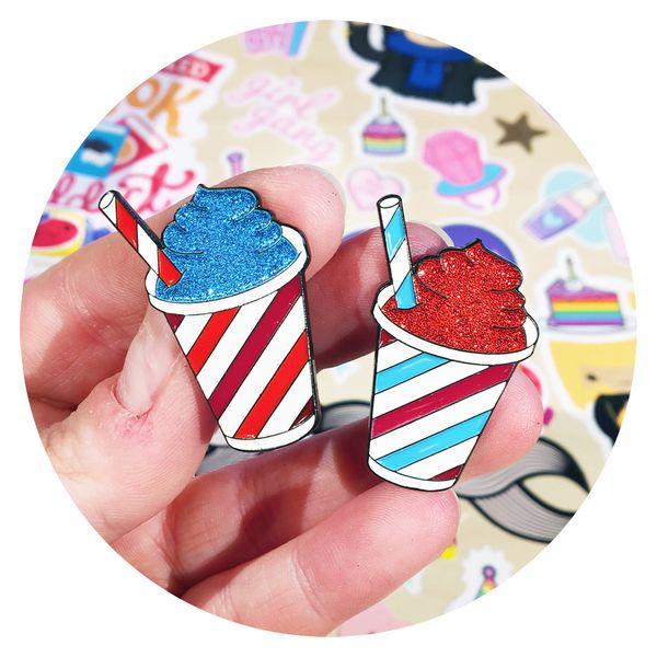 Sparkly Slushy Pins by the #CandyDollClub #JadeBoylan