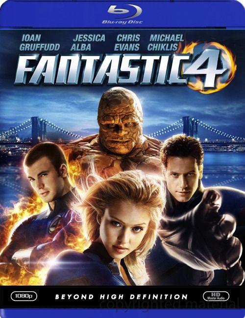 Fantastic Four (Blu-ray 2005)   DVD Empire