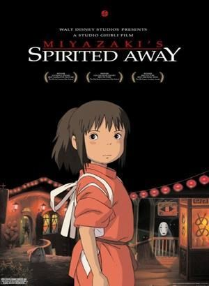 Spirited Away Movie Anime Movie