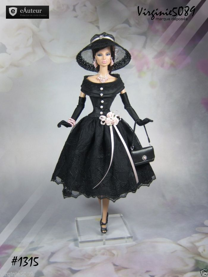 Tenue Outfit Accessoires Pour Fashion Royalty Barbie Silkstone Vintage 1315 | eBay                                                                                                                                                                                 Plus