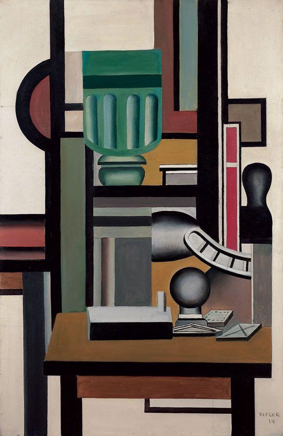 Nature morte, Fernand Léger 1924 Plus