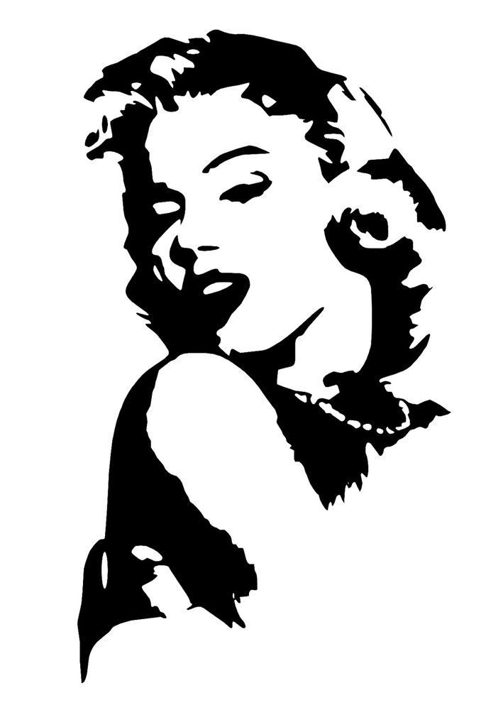 Stickers autocollant marilyn monroe d co murale for Autocollant decoration murale