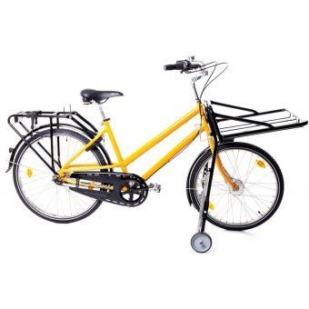 Postrad Postfahrrad Fahrrad Transport 24/26 Zoll orange gelb