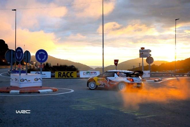 Sebastien Loeb wins WRC in Spain. He is a true champion!
