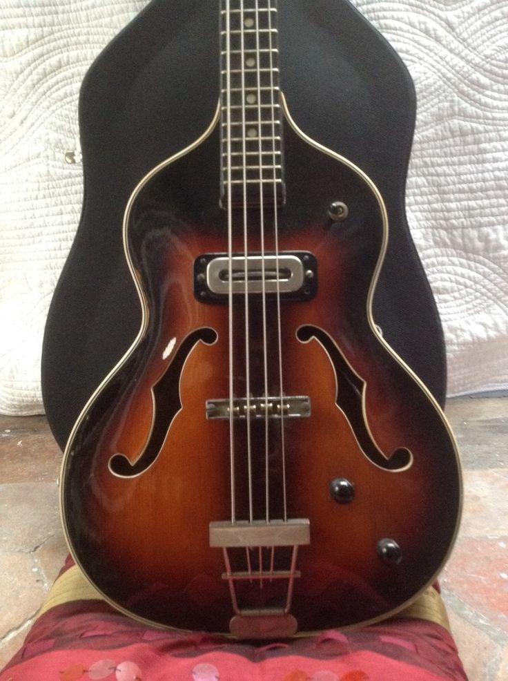 Hoyer London Violin Bass - Paul MacCartney - 1960 - Made in Germany - eurovintage.over-blog.com