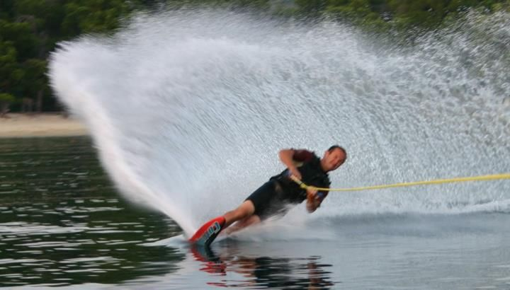 Water skiing!