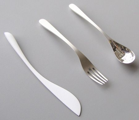 design stuff8943 Inspiration: Creative and Unusual Cutlery Designs   DIFFERENT FINISHES