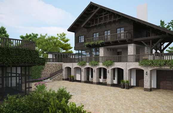 Загородный дом  1150 m2. Architect Irina Richter. INSIDE-STUDIO Prague