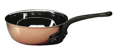 Matfer Bourgeat 373028 Copper Flared Saute Pan Without Lid 11 in. >>> Discover this special product, click the image : Saute Pans