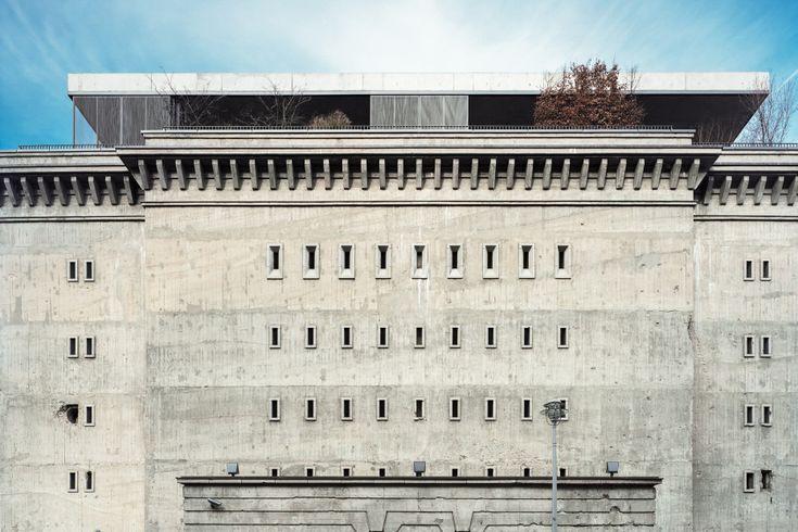 Transforman búnker nazi en galería de arte y vivienda