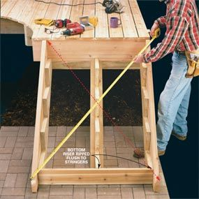 25 best ideas about deck stairs on pinterest deck steps for House build calculator