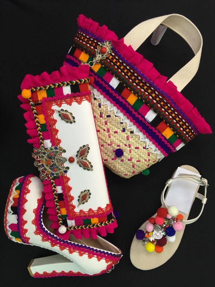 Chaussure et sac a main ~Berbère~