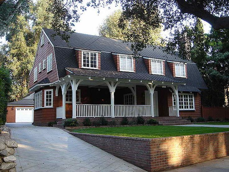 Image Result For Front Porch On Gambrel Cape Dutch Colonial