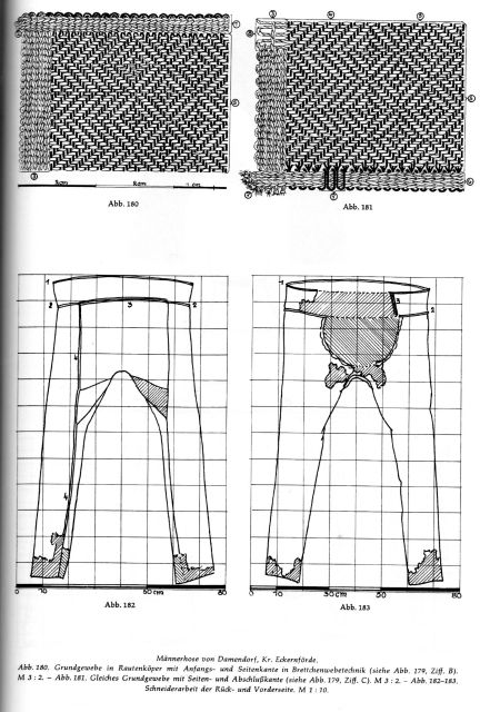 Forum for Iron Age Studies & Prehistoric Europe (image: Damendorf trousers)