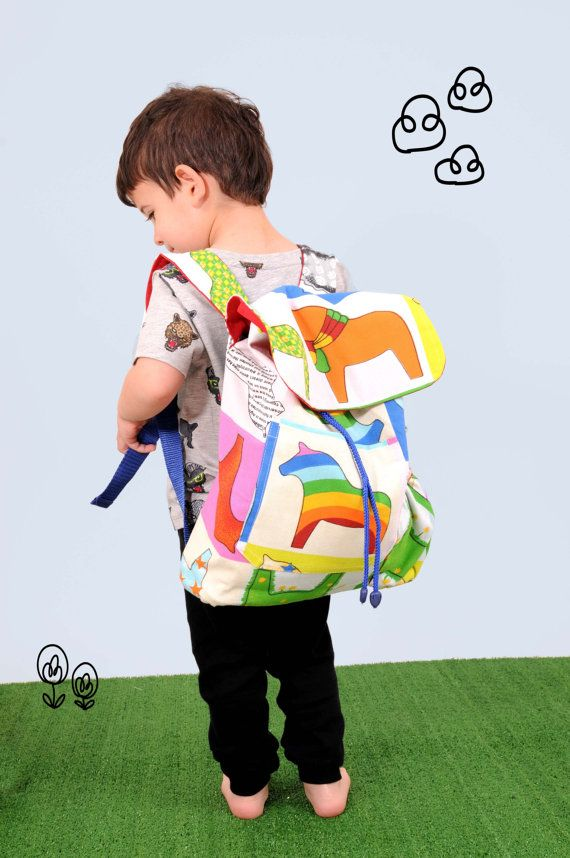 kids backpack by baobaobabyshop on Etsy, ₪125.00