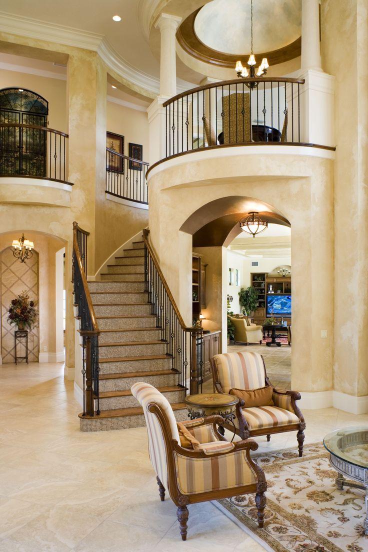 Formal Foyer Decorating
