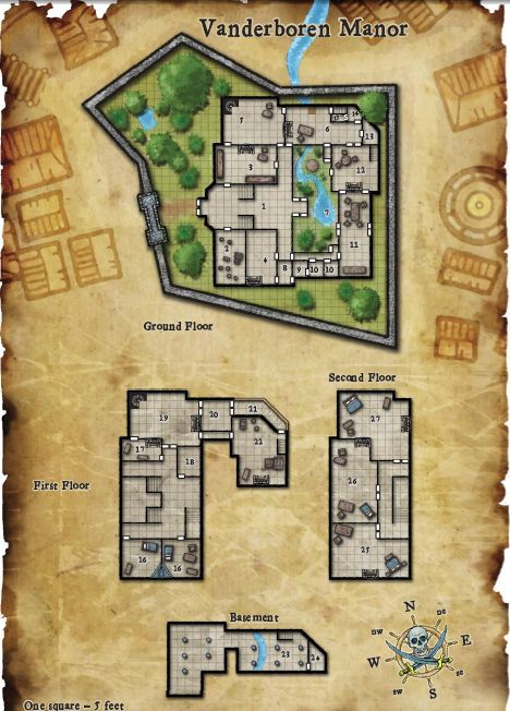 50 Best Images About Dnd Maps On Pinterest Mansions