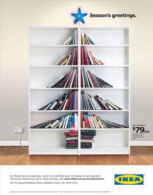 本棚のツリー