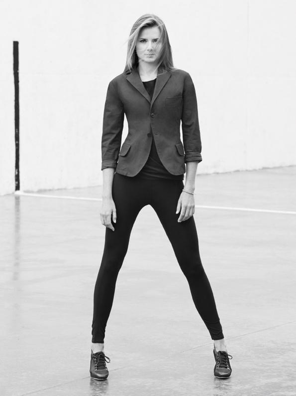 adidas SLVR Spring/Summer 2010 campaign, shot by Alasdair McLellan   Tennnis Player Daniela Hantuchová