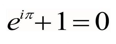 la ecuación mas bella del mundo =)