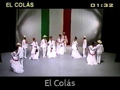 El Colas. Baile tradicional del Estado de Veracruz. Ballet Folclórico.