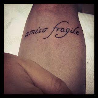 ProfTattoo: amico fragile