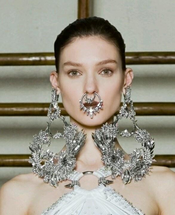 Big Earrings by Givenchy | Noooooo! | Pinterest | Big ...