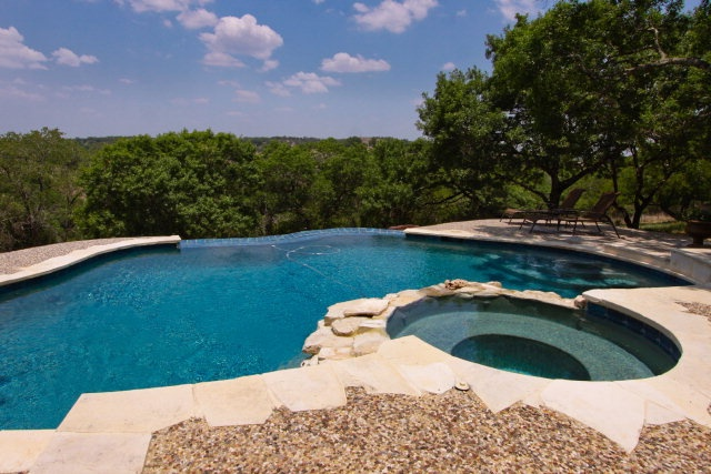60 best hill country dreams images on pinterest texas for Country pool ideas