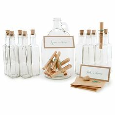 Wonderful idea for a beach theme wedding from Brides.com... Find Our Wedding Style: Sarah and Will
