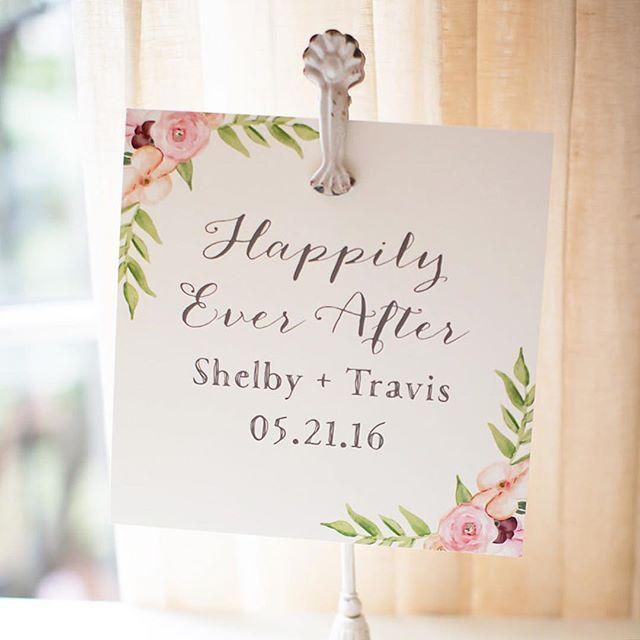 Wedding day signage. Peach Paper & Design