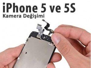 """Apple """"iPhone 5″ ve """"iPhone 5S"""" """"iPhone 5C"""" ön veya arka kamera değişimine gereksinim duyan cihazlar için değişim işlemini gerçekleştiriyoruz. #iphone5 #iphone5s #iphone5c #apple #iphoneservis iphone-5-s-kamera-degisimi"""