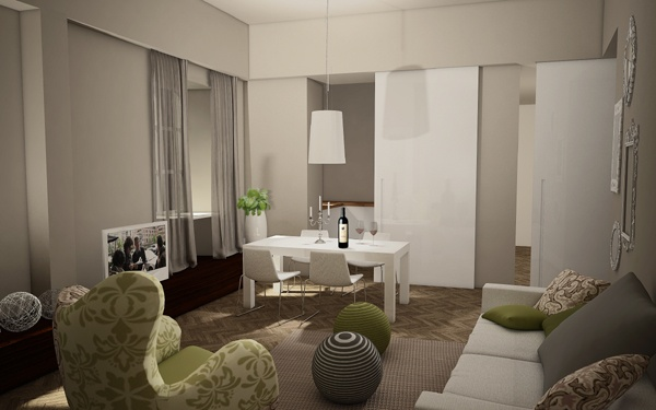 Renovation of an historical palace in the city centre of Lucca - Apartment n.1