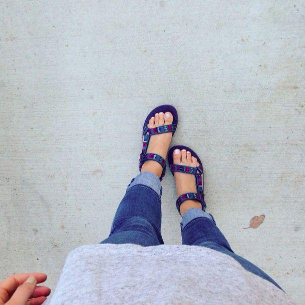 For days when it's too hot for socks.  lolalolauren on Instagram