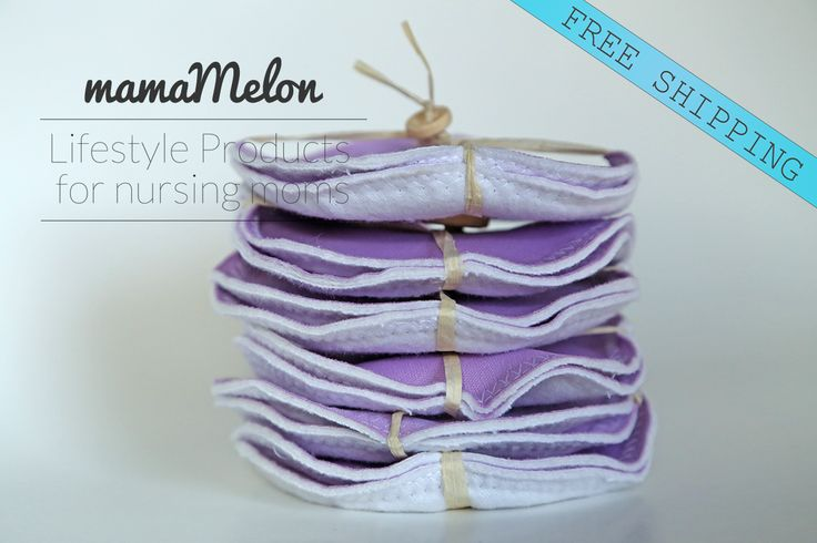 Bamboo Breast Pads for nursing mama's