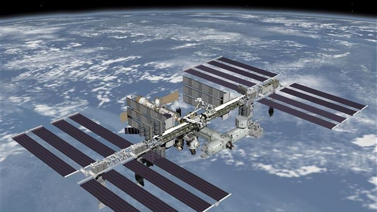 ISS crew take shelter from space debris