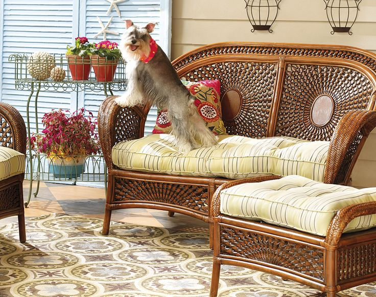 Lovely An Azteca Settee In The Sunroom Is Great For A Relaxing Paws. This Is A