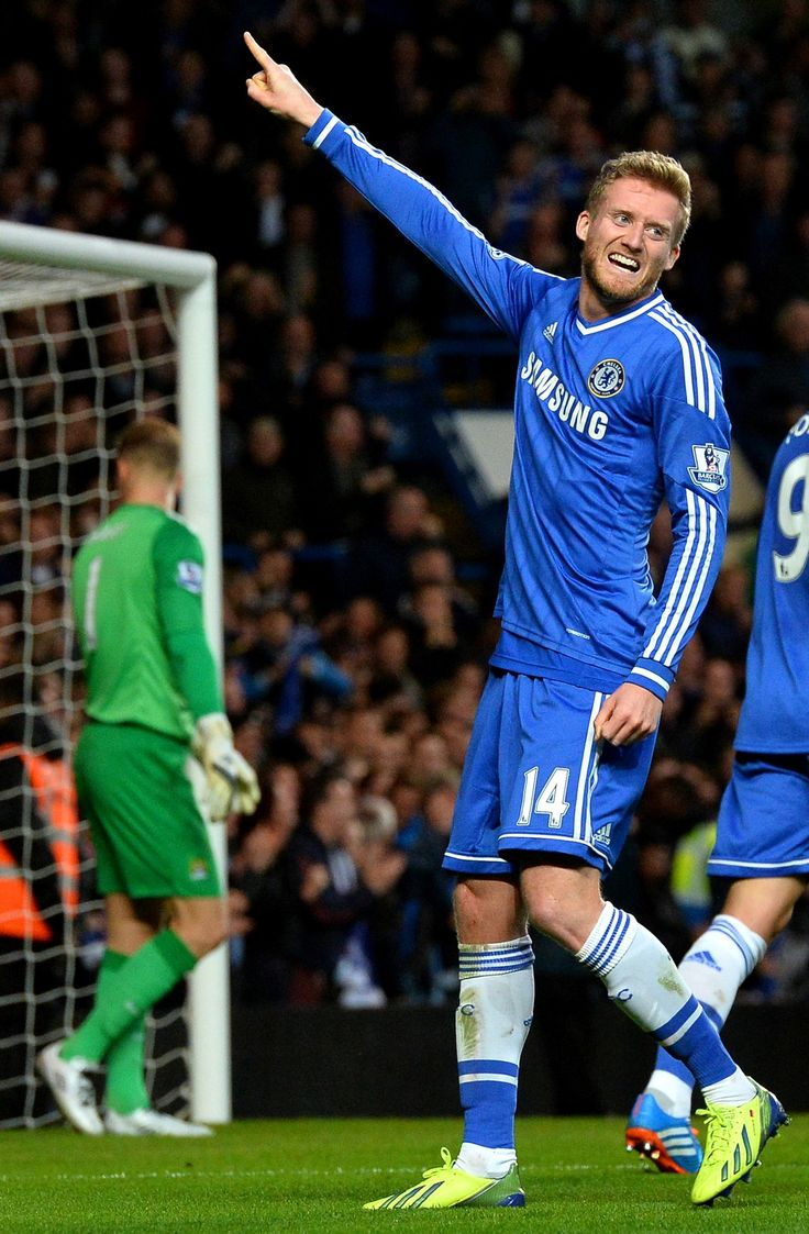 Andre Schurrle Chelsea 2 1 Manchester City Premier League Sunday October