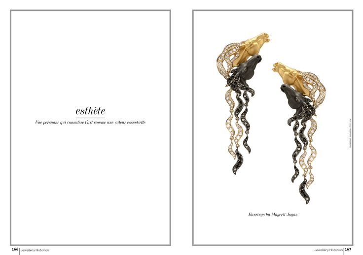 """Esthète"", the NEW monthly column that showcases ONE jewellery, selected by our editor-in-chief"