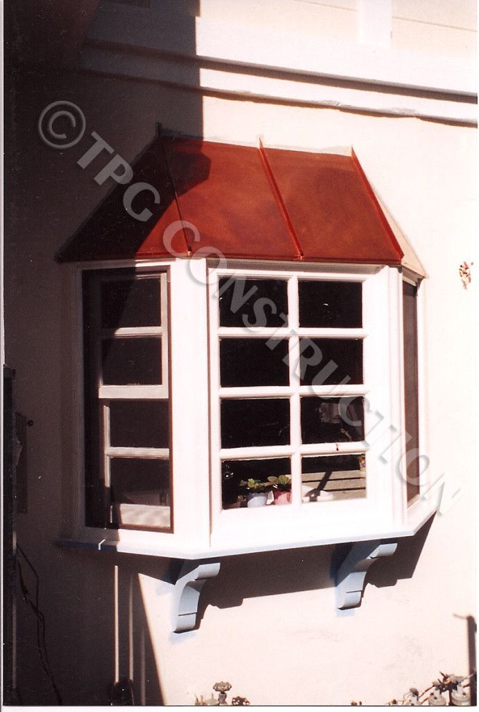 J.T. Wood Bay Window With Copper Cap