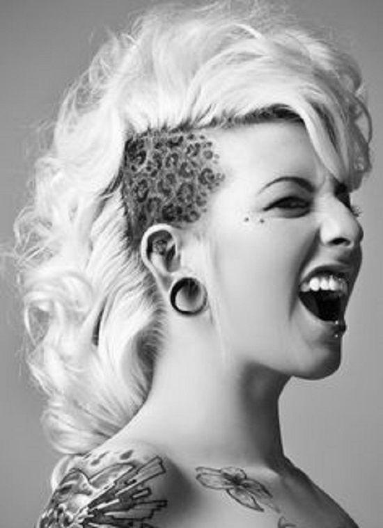 Mohawk Girls Google Search Short Hair Care A Lot Pinterest