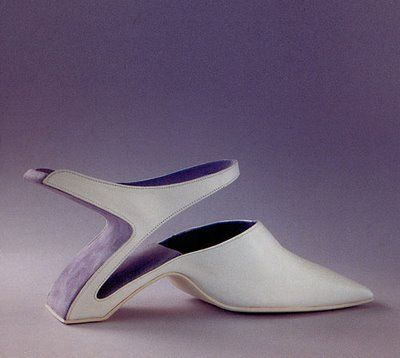 This one evokes intermittency. Wind or solar footprint? Image detail for  -The Weird Shoes Collection