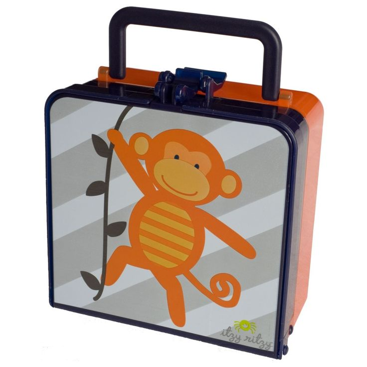monkey mania lunch box back to. Black Bedroom Furniture Sets. Home Design Ideas